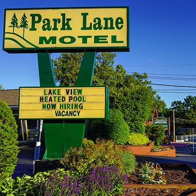 Conveniently located in the center of Lake George Village